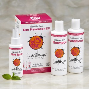 Ladibugs Head Lice Prevention Kit