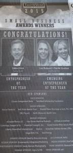 Ladibugs Inc. 2015 TwinWest Chamber of Commerce Emerging Entrepreneur of the Year