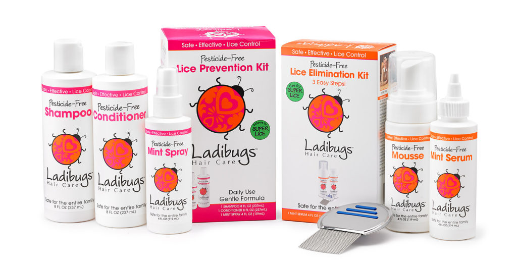 Ladibugs lice prevention and elimination products